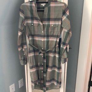 Gap Plaid Dress
